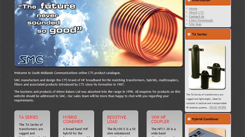 Website Design in Southampton – CTS Minns (WordPress)