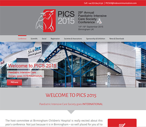 Website Design in Southampton – APICSC 2015
