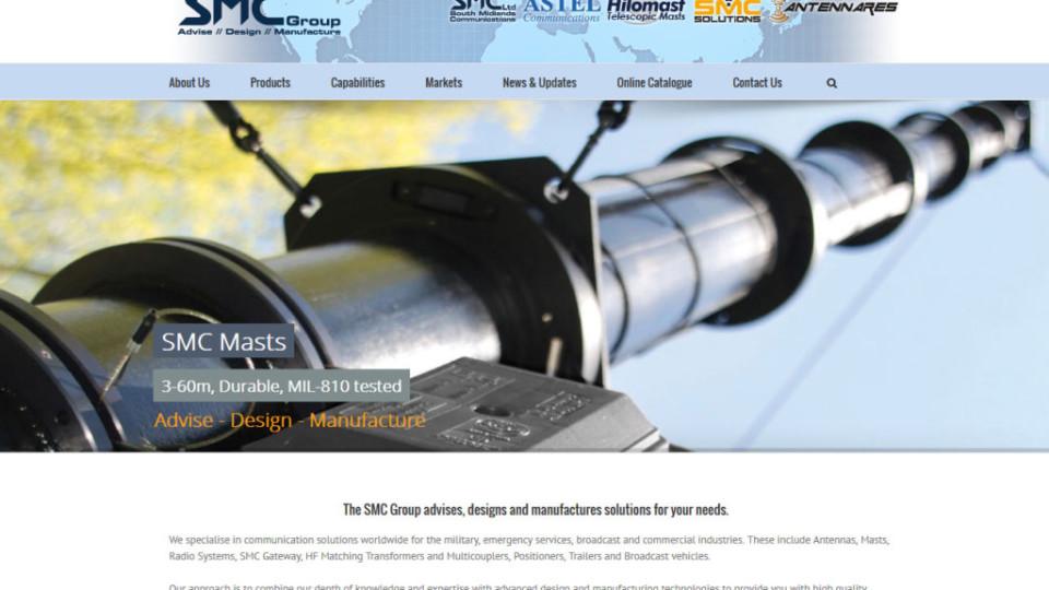 Website Design in Southampton – South Midlands Communication Ltd