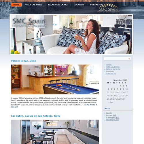 Website Design, Wordpress - SMC Spain