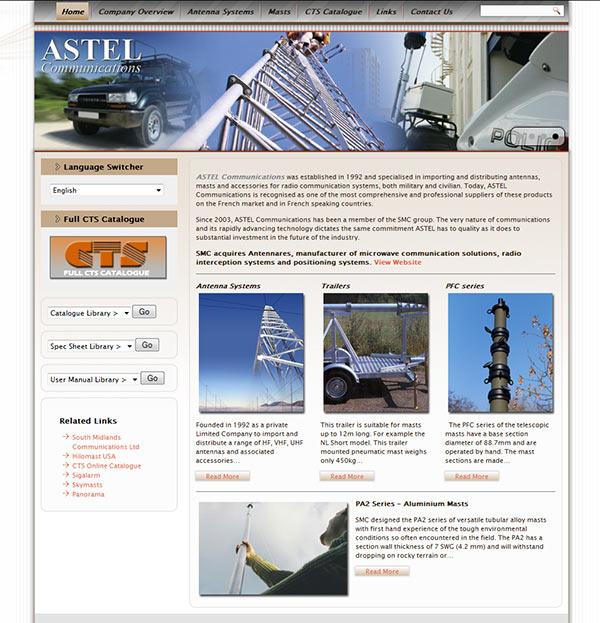 Astel Comms – WordPress