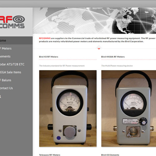 Website Design in Southampton – G Whip Antenna Products Website